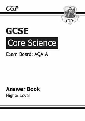 GCSE Core Science AQA Answers (for Workbook) - Higher ... by CGP Books Paperback
