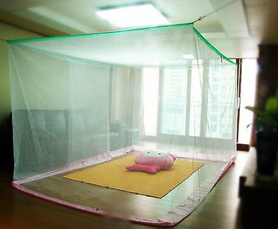 Large size White Mosquito Fly Net Netting Indoor Outdoor Camp Portable Insect