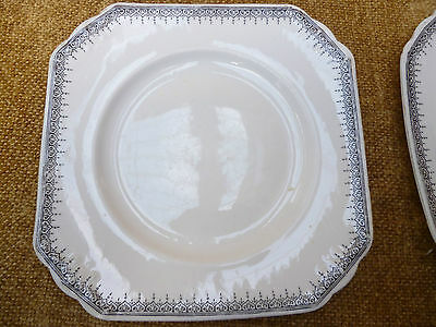 SHABBY CHIC ANTIQUE FOLEY CHINA ENGLAND 5 SMALL PLATES - Rare Early Pattern