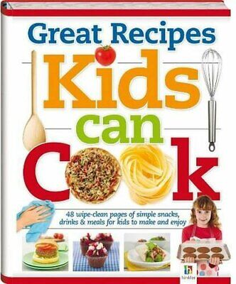 Great Recipes Kids Can Cook Hardback Book The Cheap Fast Free Post