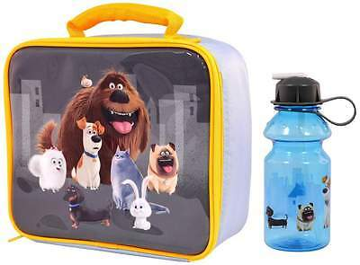 The Secret Life of Pets Lunch Bag/Box and Tritan Sipper Bottle (400ml)