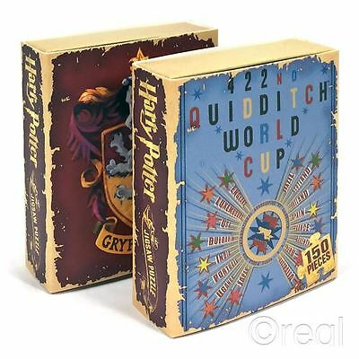 New Harry Potter Gryffindor Or Quidditch World Cup 150pc Mini Jigsaw Official