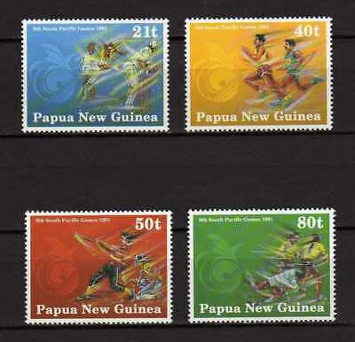 12977) PAPUA & NEW GUINEA 1991 MNH**South Pacific Games  4v