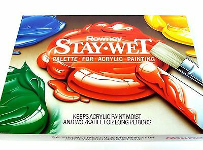 Staywet Palette for Artists Acrylic Paints from Daler Rowney NEW