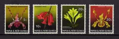 14664) PAPUA & NEW GUINEA 1969 MNH** Flowers - Orchids - 4v