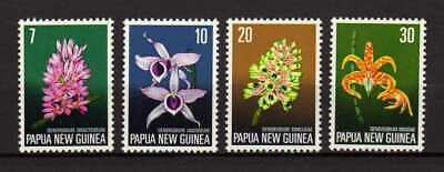 14671) PAPUA & NEW GUINEA 1974 MNH** Flowers - Orchids 4v