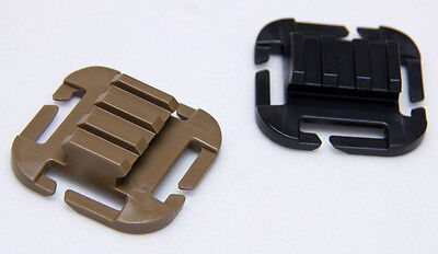 ITW QASM Picatinny RAMP Molle Mount Adaptor for Flashlight or GoPro RRP 5.99