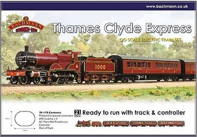 BACHMANN 30-170 1:76 OO SCALE Thames Clyde Express Train Set DCC Ready