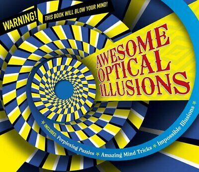 OPTICAL ILLUSIONS, AWESOME (Puzzle Books) by Carlton Kids Book The Cheap  Fast