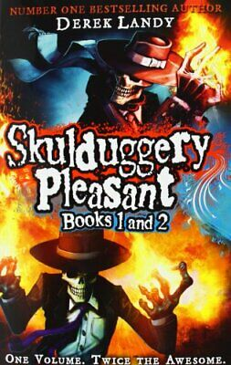 Skulduggery Pleasant 1 & 2: two books in one by Landy, Derek Book The Cheap Fast