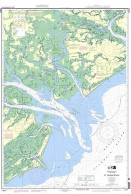 NOAA Nautical Chart 11517: St. Helena Sound