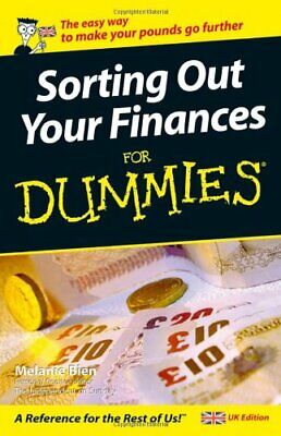 Sorting Out Your Finances For Dummies by Bien, Melanie Paperback Book The Cheap