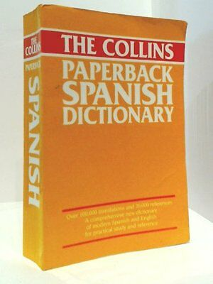 The Collins Paperback Spanish Dictionary Paperback Book