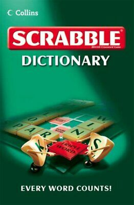 Collins Scrabble Dictionary, Collins Paperback Book The Cheap Fast Free Post