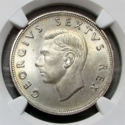 1952 South Africa 2.5 Shilling Ngc Proof 66