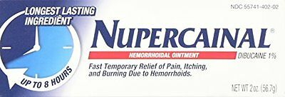 3 Pack NuperCainal Hemorrhoidal Ointment Pain Relief 2 Oz Each