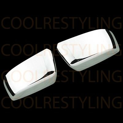 For Chevy Suburban Ls/Lt/Ltz 2015 Chrome Top Half Mirror Covers