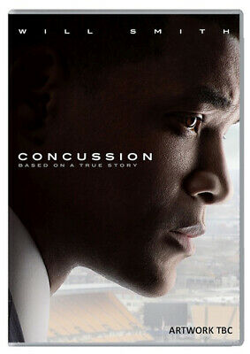 Concussion DVD (2016) Will Smith, Landesman (DIR) cert 12 FREE Shipping, Save £s