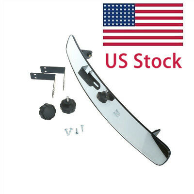 """10L0L 16.5"""" Extra Wide Panoramic Rear View Mirror for Golf Carts EzGo Yamaha"""