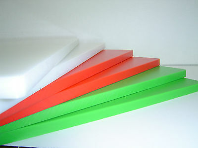 Cutting Board/Chopping Board Heavy Duty HDPE 4 Colours Available 40 x 24 x 1.2cm