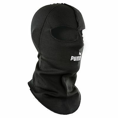 Puma Nomex Double Eye Hole Balaclava Black Race/Rally/Track FIA Approved