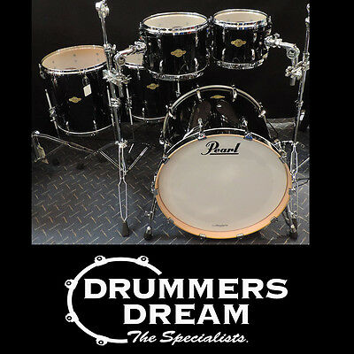 Brand New Pearl Masters Maple MCX 5Pce Drum Kit Piano Black Finish