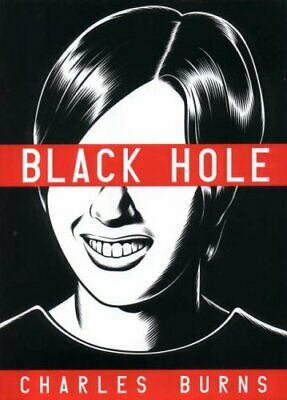 Black Hole by Burns, Charles Hardback Book The Cheap Fast Free Post