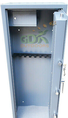 Gdk 8 ,vault Locking,gun  Cabinet,side Ammunition Safe,8 Scoped Rifle, Shotgun