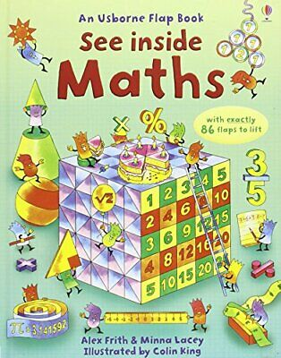 Maths (See Inside) by Minna Lacey Hardback Book The Cheap Fast Free Post