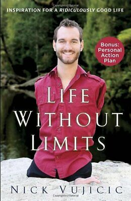 Life Without Limits by Nick Vujicic Book The Cheap Fast Free Post