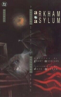 Batman: Arkham Asylum by McKean, Dave Paperback Book The Cheap Fast Free Post