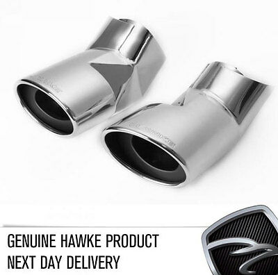 HAWKE Chrome Exhaust Tips for Range Rover Sport 2007 Pipes Exits Muffler