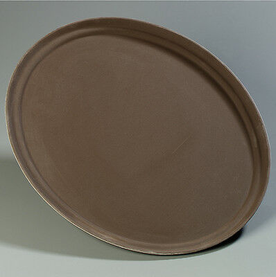 Carlisle Food Service Products Griptite™ Oval Tray Toffee Tan