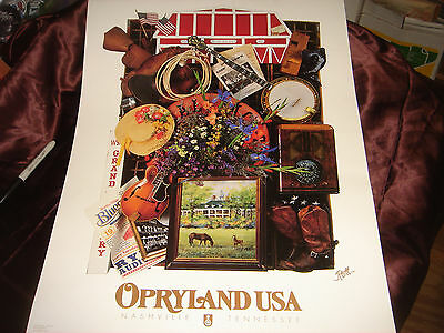 New-OPRYLAND USA-POSTER-Print