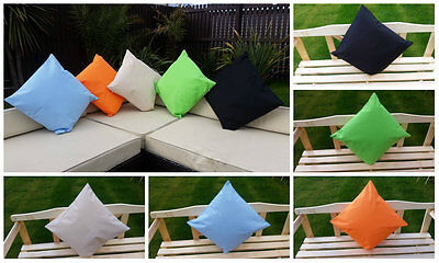 Outdoor Waterproof Removable Cover Chair Scatter Cushion Garden Dining Kitchen