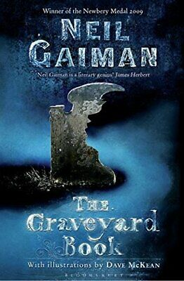The Graveyard Book by Gaiman, Neil Paperback Book The Cheap Fast Free Post