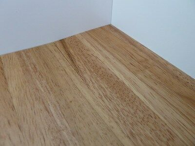 Dolls House Miniature Light Varnished Wood Flooring (Diy052A)