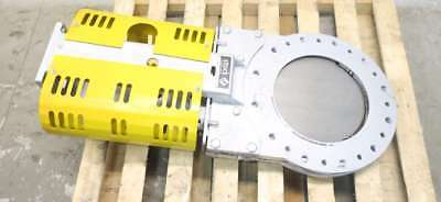 Stock 14 In Steel Flanged Knife Gate Valve