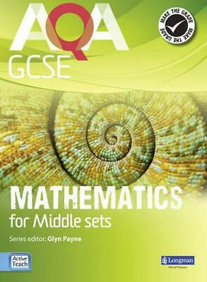 AQA GCSE Mathematics for Middle Sets Student Boo... by Crawshaw, Janet Paperback