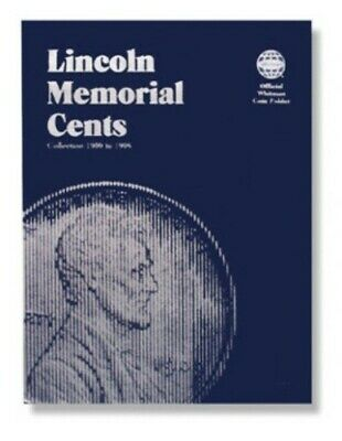 Whitman Coin Folder # 9000 Lincoln Memorial Cents