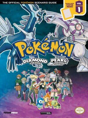 """""""Pokemon Diamond and Pearl"""" Official Strategy Guide by Future Press Paperback"""