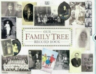 Our Family Tree Record Book by Ash, Caroline Hardback Book The Cheap Fast Free