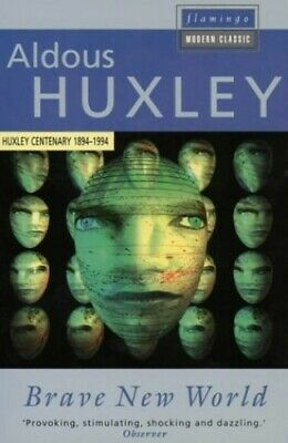 Brave New World (Flamingo modern classics) by Huxley, Aldous Paperback Book The