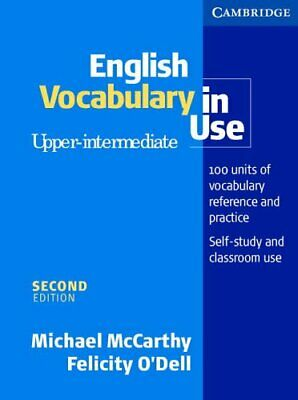 English Vocabulary in Use Upper-Intermediate wi... by O'Dell, Felicity Paperback