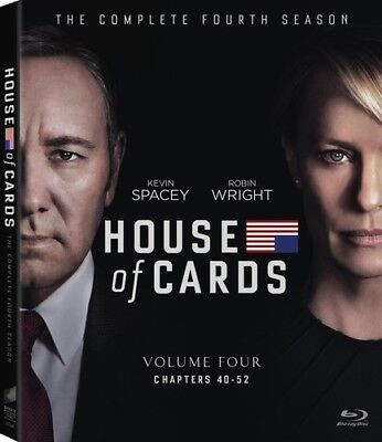 House of Cards: The Complete Fourth Season [New Blu-ray] Boxed Set, Dolby, Wid