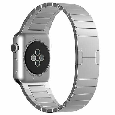 JETech 2218 Apple Watch Band 42mm Stainless Steel Butterfly Link Bracelet Band