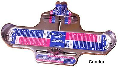 Combination Brannock Device