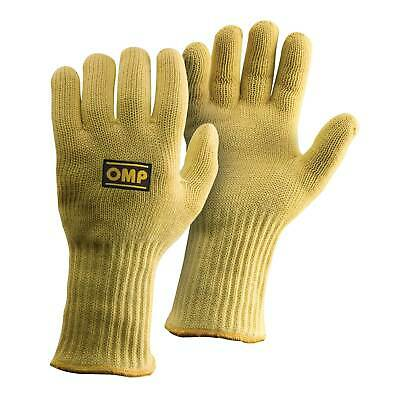 OMP Heat Resistant Mechanics Protective Work Gloves - Yellow