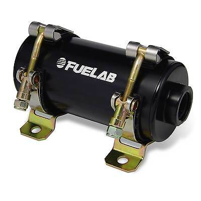 Fuelab Small Prodigy EFi In Line Petrol/Diesel Fuel Pump - Black - 40401-1