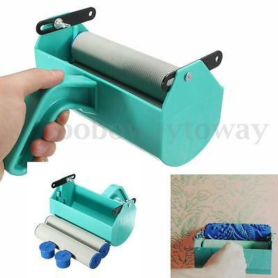 Single Color Decoration Paint Painting Machine for 7 Inch Wall Roller Brush